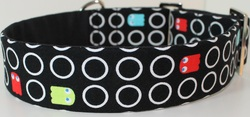Pacman greyhound collar