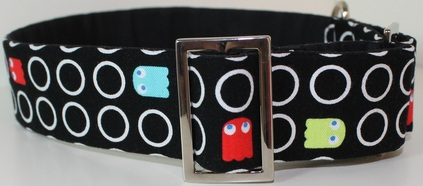 Pac-man dog collar