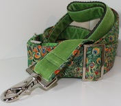 Peacock collar and lead